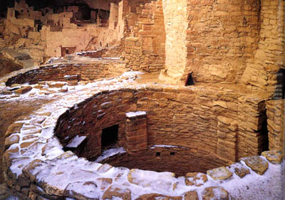 Anasazi Kiva at Mesa Verde National Park